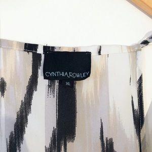 Cynthia Rowley Tops - CYNTHIA ROWLEY MULTI COLOR TANK TOP